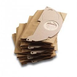 Sachet filtre papier Karcher WD2 & A 20XX (5 pcs) Accessoires de nettoyage
