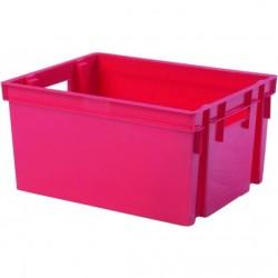 Bac de rangement rouge 30L Rangement et stockage