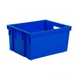 Bac de rangement bleu 30L Rangement et stockage