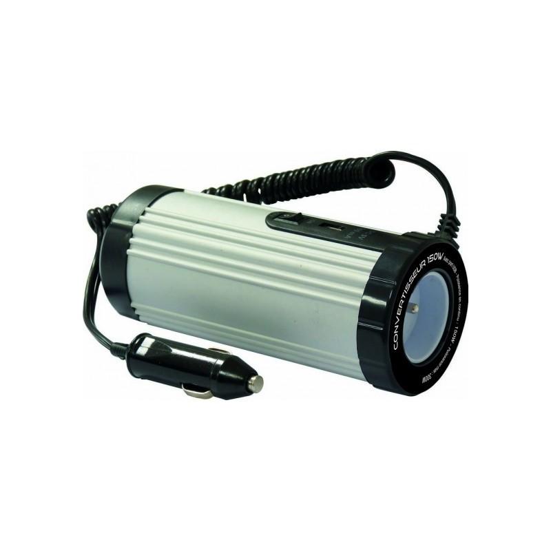 Convertisseur 150W 12V DC/230V AC avec port USB Convertisseurs