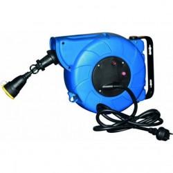 Enrouleur auto câble 16+2m 230V 50HZ IP44 Rallonges électriques