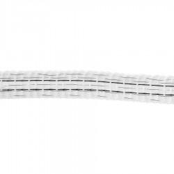 Ruban PowerLine 12,5mm (blanc, 200 mètre) Rubans clôtures électriques