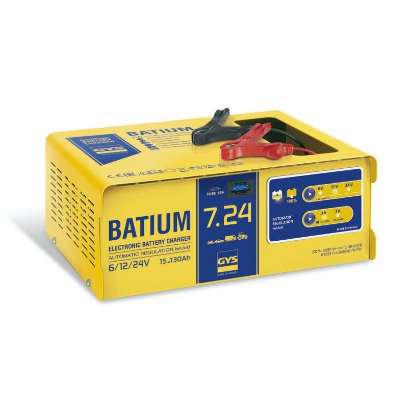 Chargeur de batterie GYS Batium 7.24 automatique Chargeurs