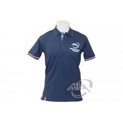 Polo casual bleu Kübler - MFA T-shirt