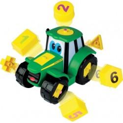 Johnny le tracteur formes et chiffres Tracteurs miniatures