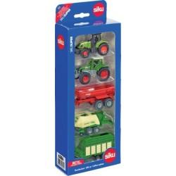 Coffret 5 pièces Siku tracteurs et matériels agricoles Tracteurs miniatures
