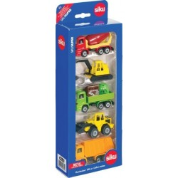 Coffret 5 pièces Siku matériels de travaux publics Camions miniatures