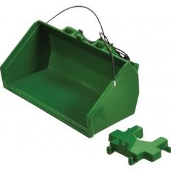 Godet hydraulique vert Réplicagri Accessoires miniatures