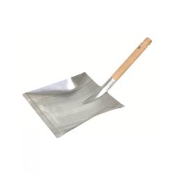 Pelle à pooussière métal avec manche en bois Balais