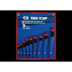 Trousse 9 chasse-goupilles gainés King Tony Chasse-goupilles