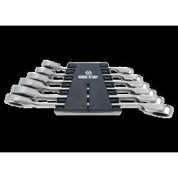 6 clés polygonales à cliquet métriques King Tony Clés