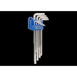 9 clés mâles longues TORX® King Tony Tournevis, clés mâles et embouts