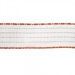 Ruban électrique TurboStar 40mm (blanc, 100m) Rubans clôtures électriques