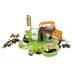 Coffret ferme avec un tracteur Norev Tracteurs miniatures