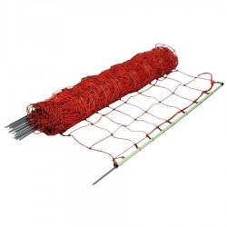Filet chèvres, pointe simple, 105cm, 50m Filets clôtures électriques