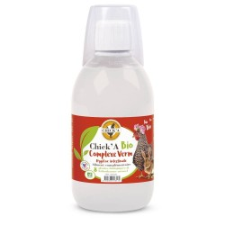 Aliment diététique complémentaire BIO verm Chick'a 300mL Aliments