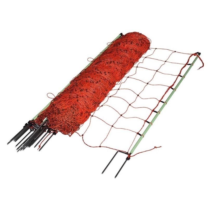 Filet chèvres, pointe double, 105cm, 50m Filets clôtures électriques