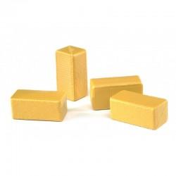 4 Bottes de paille rectangulaires Bruder Accessoires miniatures