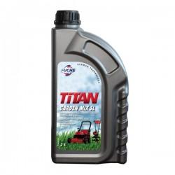 Huile mélange moteur 2 temps Titan Garden Mix SL - 2L Huile moteur