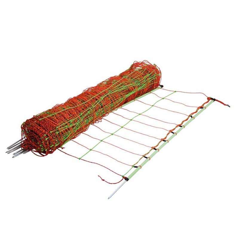 Filet combi, pointe simple, 105cm, 50m Filets clôtures électriques