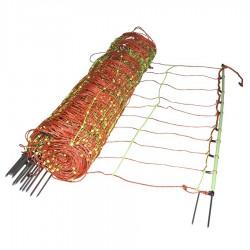 Filet Combi, pointe double, 105cm, 50m Filets clôtures électriques
