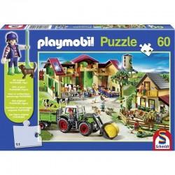 Puzzle Playmobil à la ferme 60 pièces Puzzles & jeux de société