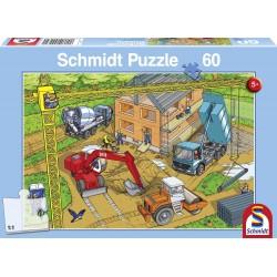 Puzzle chantier 60 pièces Puzzles & jeux de société