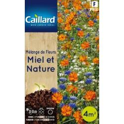Graines mélange de fleurs Miel et nature Caillard Fleurs