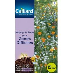 Graines mélange de fleurs pour zones difficiles Caillard Fleurs