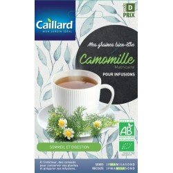 Graines Camomille matricaire Bio Caillard Aromatiques