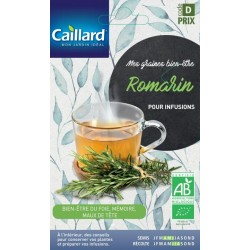 Graines Romarin Bio pour infusions Caillard Aromatiques
