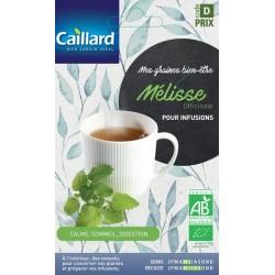 Graines mélisse officinale Bio Caillard Aromatiques