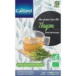 Graines thym d'hiver Bio pour infusions Caillard Aromatiques