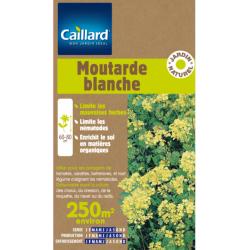 Graines moutarde blanche 250 m2 Caillard Engrais