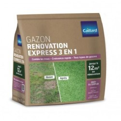 Gazon rénovation express 3 en 1 - 1 kg Caillard Gazon