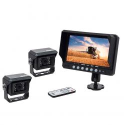 """Kit vidéo AMS 7"""" 2 caméras Kits vidéos"""
