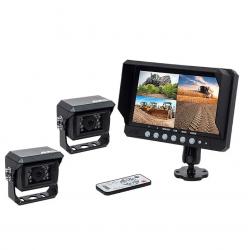 "Kit vidéo AMS 9"" 4 entrées - 2 caméras Kits vidéos"
