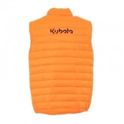 Doudoune unisexe sans manche Kubota orange Vestes