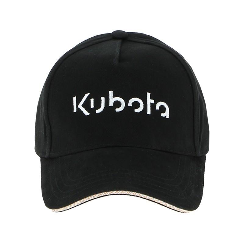 "Casquette Kubota noire ""Fair black"" Casquettes"