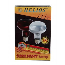 Ampoule infrarouge Helios 150W rouge Lampes chauffantes