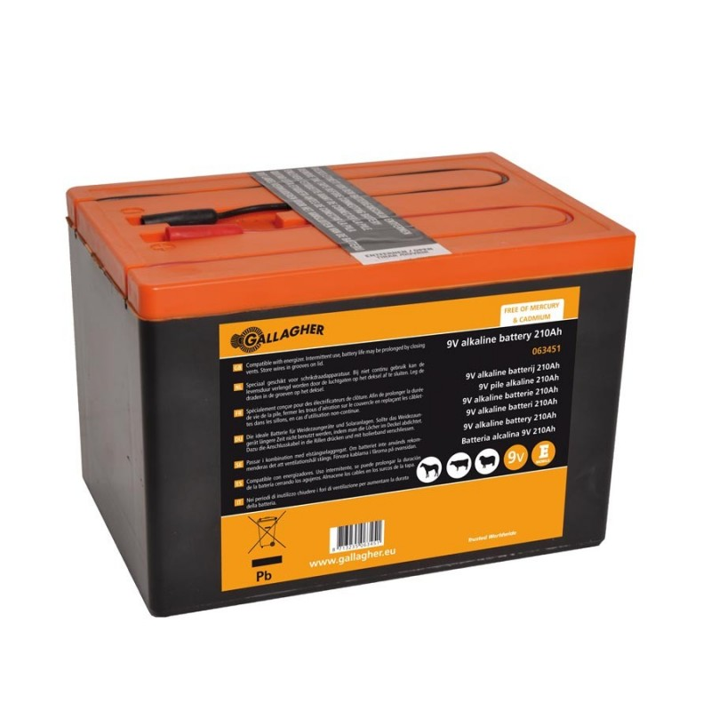 Pile 9V Powerpack 210Ah Piles et batteries