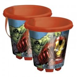 Seau plastique The Avengers D. 18 cm Divers
