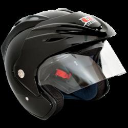 Casque bulle noir Uride Casques quad et moto