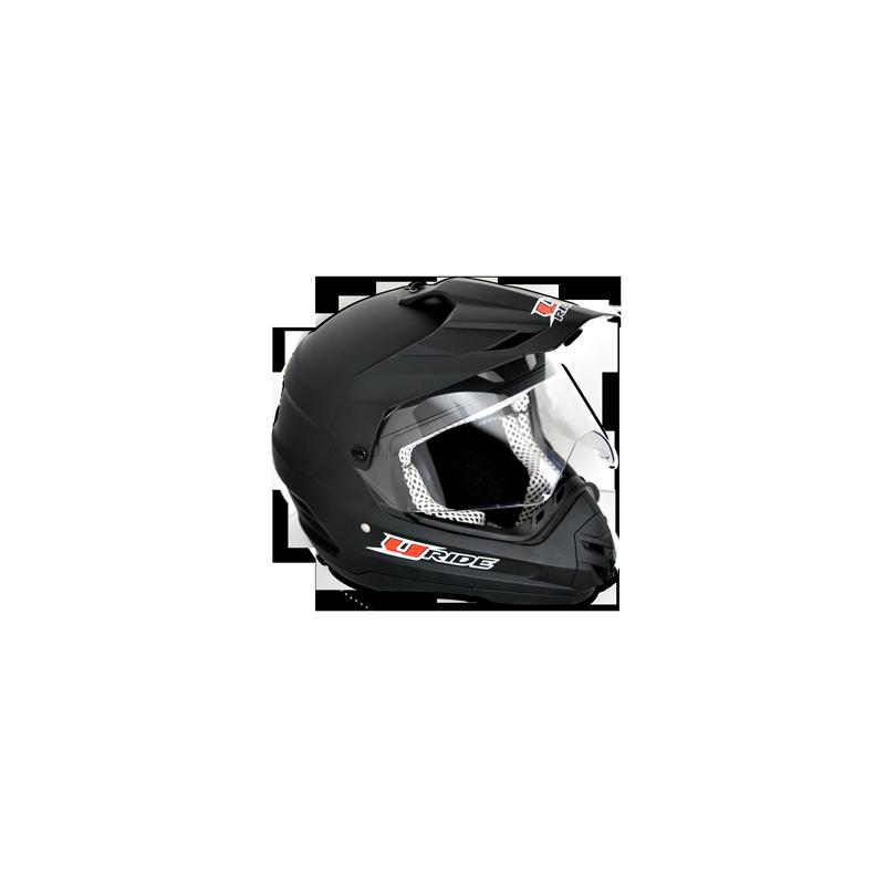 Casque enduro XC-1 noir Uride Casques quad et moto
