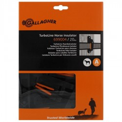 Isolateur clôture ruban Turboline (20 pcs) Isolateurs rubans