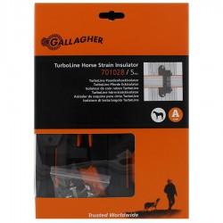 Isolateur clôture ruban de coin Turboline (5 pcs) Isolateurs rubans