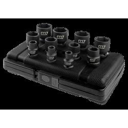 """Coffret de douilles à chocs 1/2"""" métriques - 11 pièces - M7 Douilles et accessoires"""