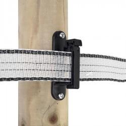Isolateur clôture ruban Powerline (25 pcs) Isolateurs rubans