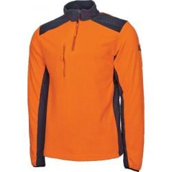 Polaire Cob orange Solidur Vestes