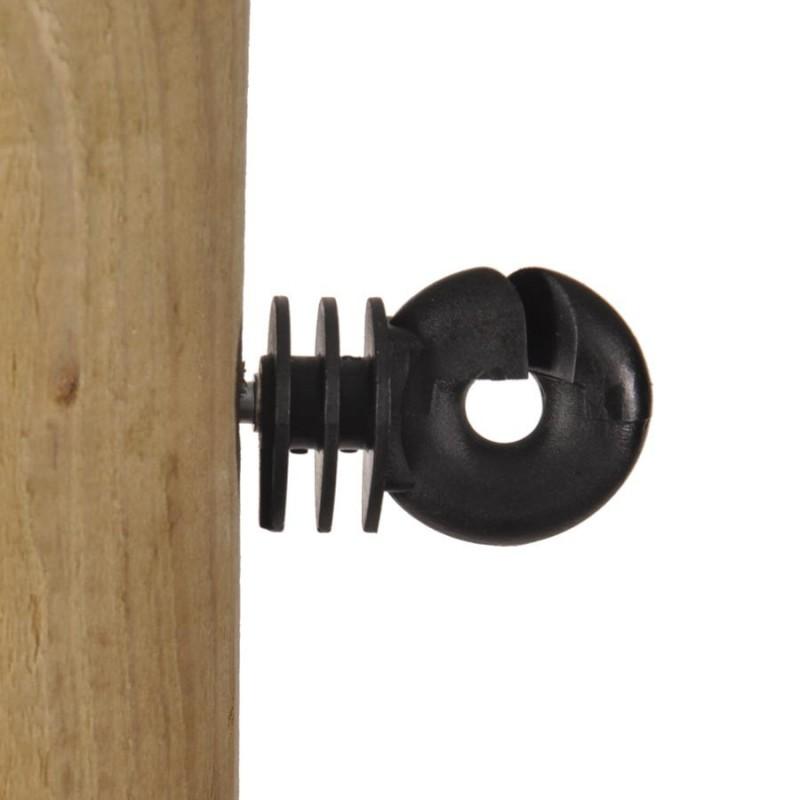 Isolateur à vis Economy (75 pcs) Isolateurs piquets permanents